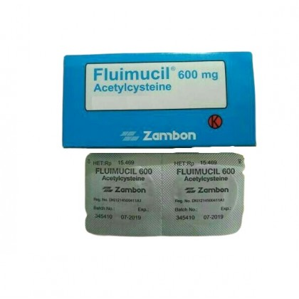 Fluimucil A Effervescent Tablet 600mg